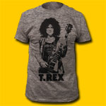 T-Rex Heather Grey T-Shirt