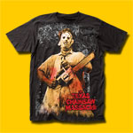 The Texas Chain Saw Massacre Chainsaw Movie T-Shirt