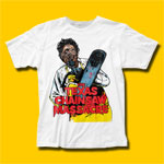 The Texas Chain Saw Massacre Illustration Movie T-Shirt