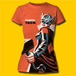 Thor Girl Michael Cho Design Girls T-Shirt