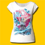 Thor Girl Electricity Girls Cut T-Shirt