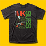 U.K. Subs Warhead Black T-Shirt