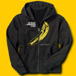 Velvet Underground Rock Hooded Sweatshirt - Banana Rock Hooded Sweatshirt