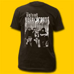 Velvet Underground Band with Nico Coal T-Shirt