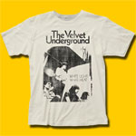 Velvet Underground White Light / White Heat Vintage White T-Shirt