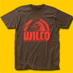 Wilco Rising Early Since 1994 Brown T-Shirt