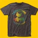 Woodstock Colorful Logo Coal T-Shirt