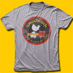 Woodstock Logo Heather Grey T-Shirt
