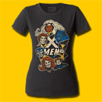 X-Men Girls Crew T-Shirt