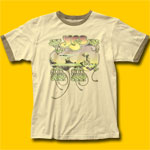 Yes Yessongs Cream Raglan T-Shirt