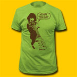 Frank Zappa Kill Your Mama Heather Green T-Shirt