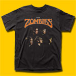 The Zombies The Singles Black T-Shirt