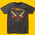 ZZ Top Eliminator Coal T-Shirt