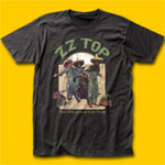ZZ Top El Loco Coal T-Shirt